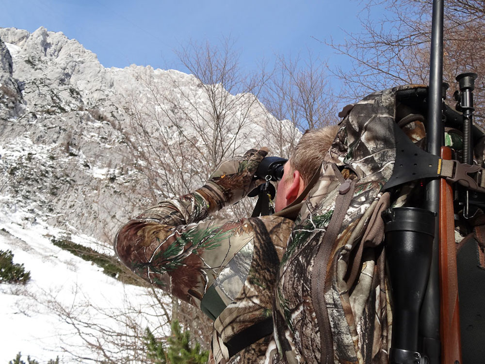 Hunting chamois in slovenia