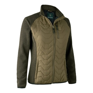 Lady Beth Padded Jacket w. Knit