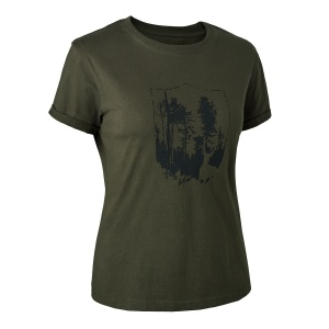 Lady T-Shirt with Shield