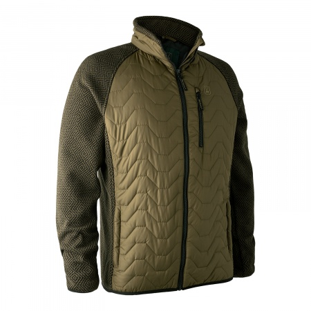 Pochard Padded Jacket w. Knit