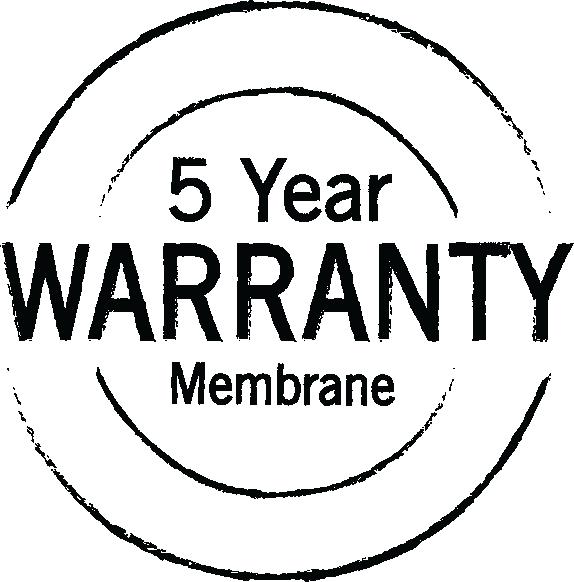 Membrane warranty
